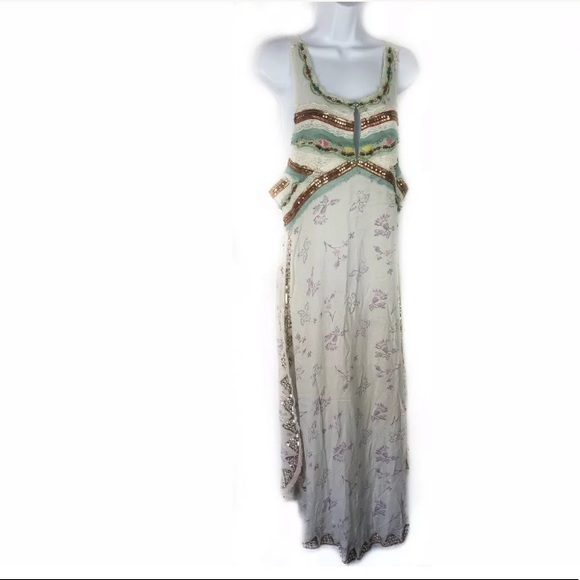 Free People Dresses & Skirts - Intimately FREE PEOPLE Embellish Sequin Maxi Dress